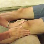 Massage Monday How to massage your partner's knees – front