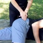 Massage Monday: How to massage your partner's hip sideways greater trochanter