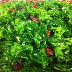 raw vegan massaged kale salad
