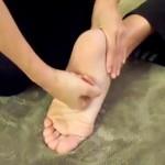 Massage Monday  How to massage ticklish feet