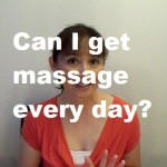 Massage Monday pros and cons daily massage