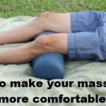 Massage Monday bolster for lower back pain