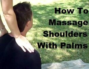 Massage Monday couples massage shoulder massage