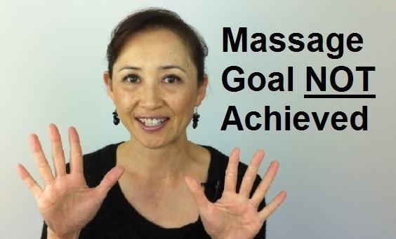Massage Monday yearly goal