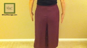 how to wear Thai wrap pants 2 - back
