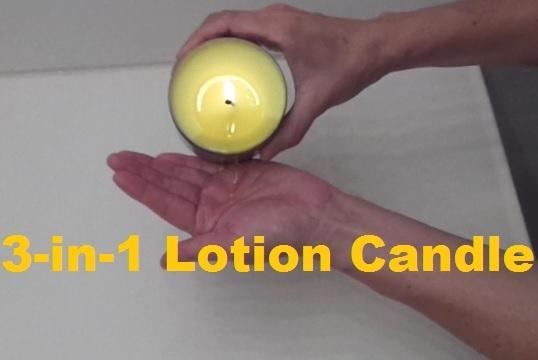 massage monday lotion candle