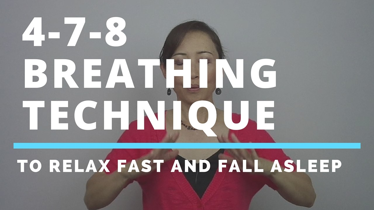massage monday 4-7-8 breathing technique to calm down