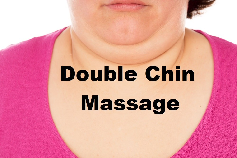 massage monday how to get rid of double chin