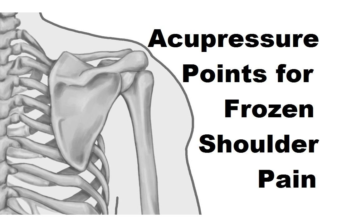 Acupressure Points for Frozen Shoulder