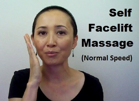 massage monday anti aging facelift self massage