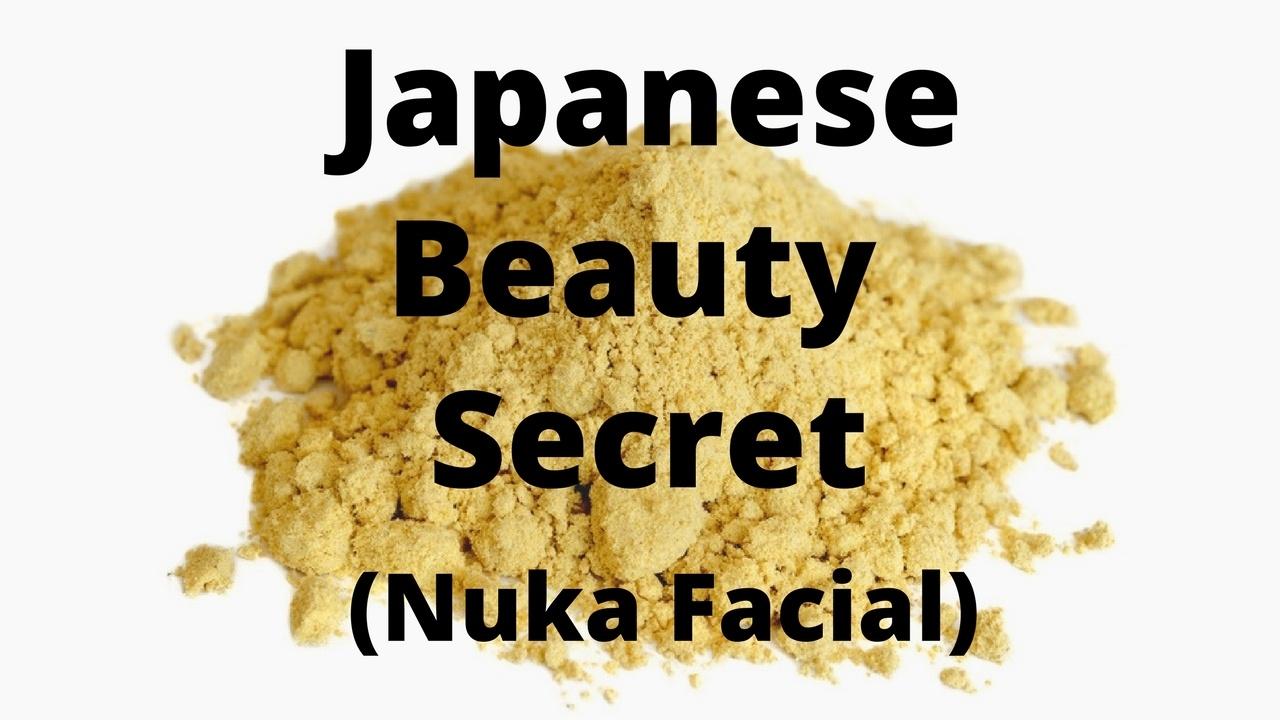 Massage Monday Japanese Beauty Secret Nuka Facial