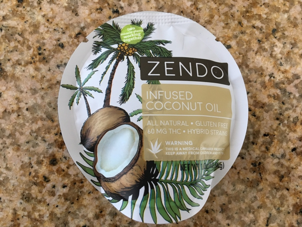 Zendo THC infused coconut oil