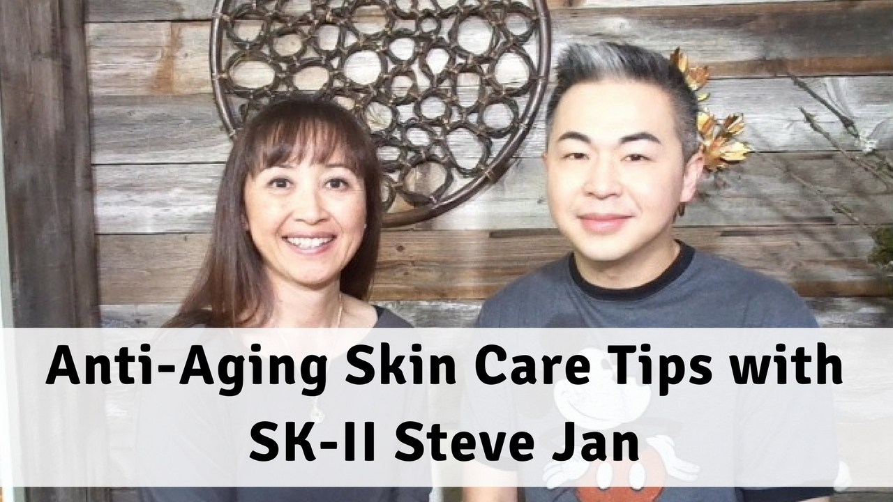 Massage Monday Anti-Aging Skin Care Tips with SK-II Steve Jan