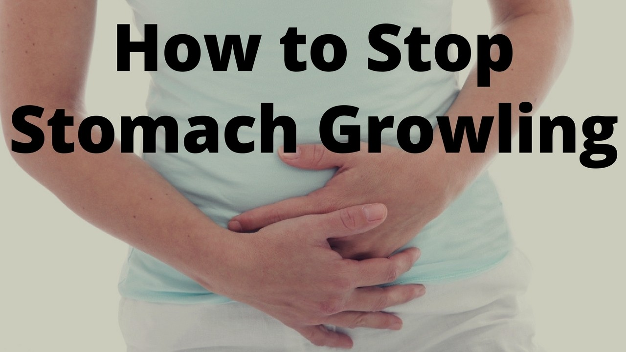 Massage Monday how to stop stomach growling