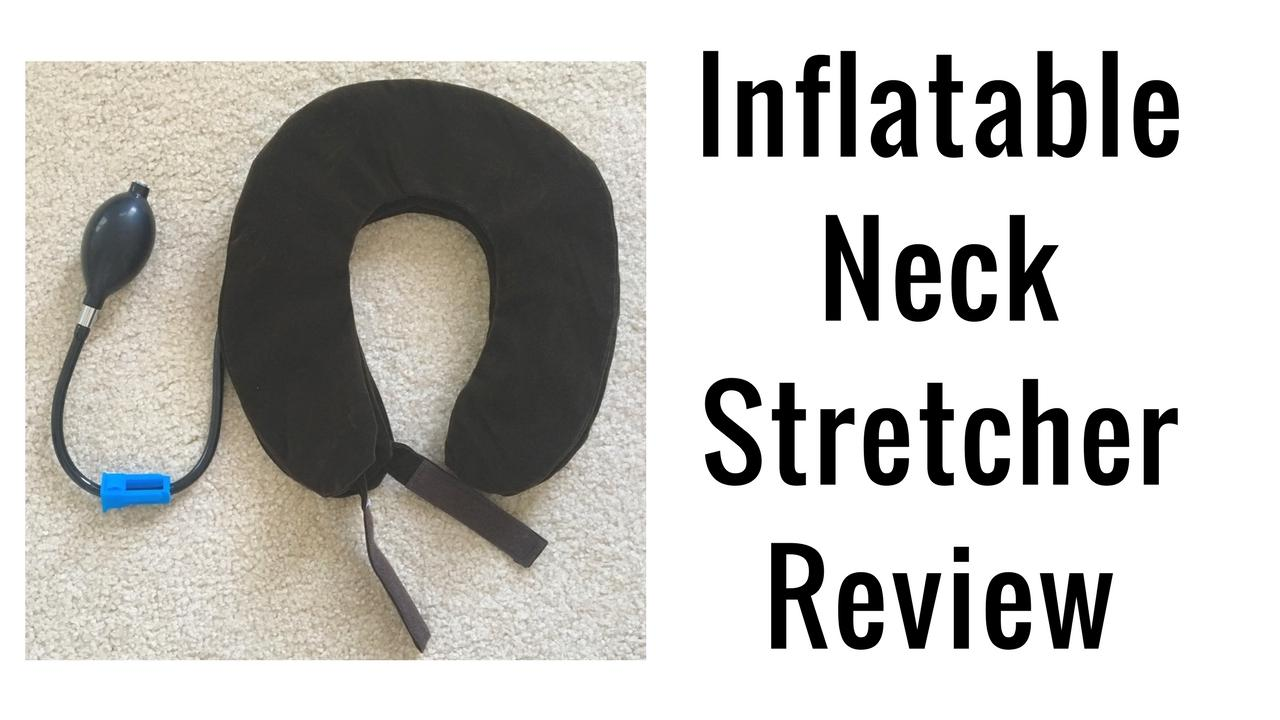 Massage Monday Inflatable Neck Stretcher Review