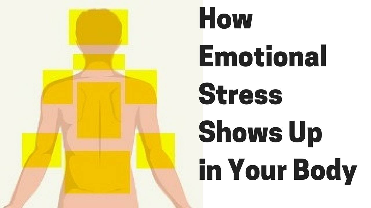 Massage Monday 389 How Certain Emotional Stress Shows Up in Your Body