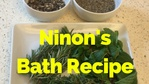 Massage Monday Ninon's Herbal Bath Recipe