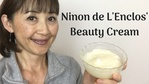 Massage Monday Ninon de L'Enclos Beauty Tonic Cream