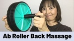 Massage Monday Couples Back Massage with ab Roller