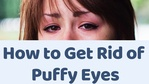 Massage Monday how to get rid of eye puffiness