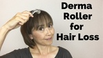Massage Monday derma roller for hair loss and hair regrowth