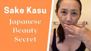 massage monday sake kasu beauty anti-aging secret